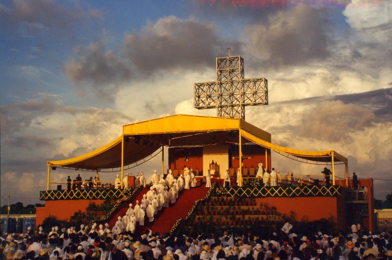 Celebración Eucarística en Xoclán