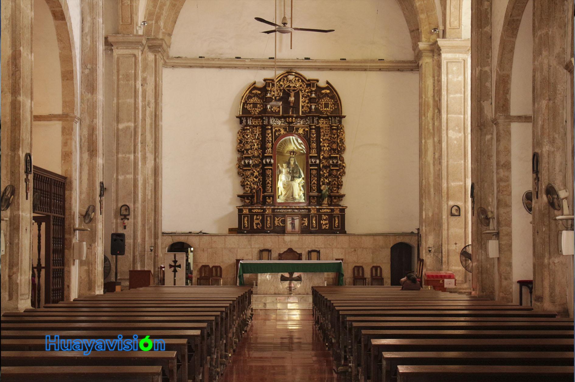 Interior de la iglesia de la Mejorada
